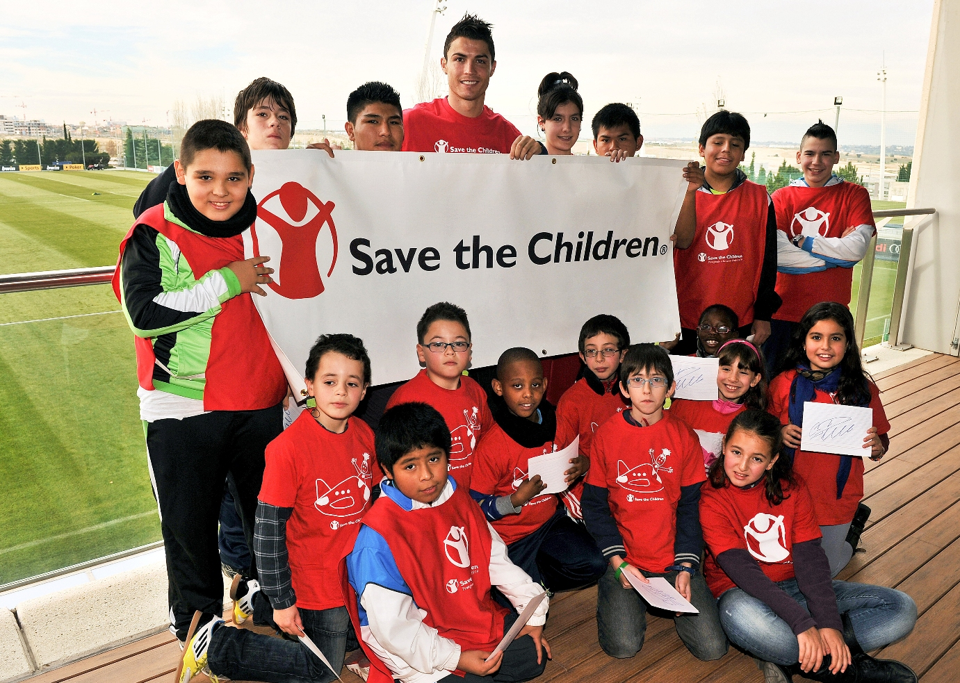 Cristiano Ronaldo Kicks Off the New Year as Save the Children's New