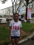 """I am honorable to take part in the race for its significance. I have had a good chance to meet friends and to join with them in efforts to imrpove children health,"" bDuong Thi Thai Hoa, 18 from Foreign Language college."